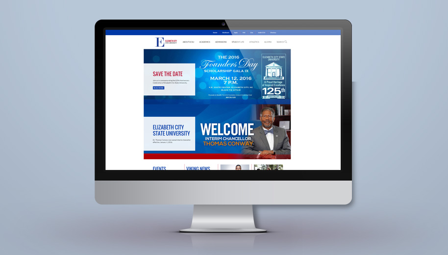 Elizabeth City State University Web Redesign